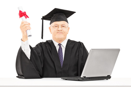 Grand débutant diplômé en informatique
