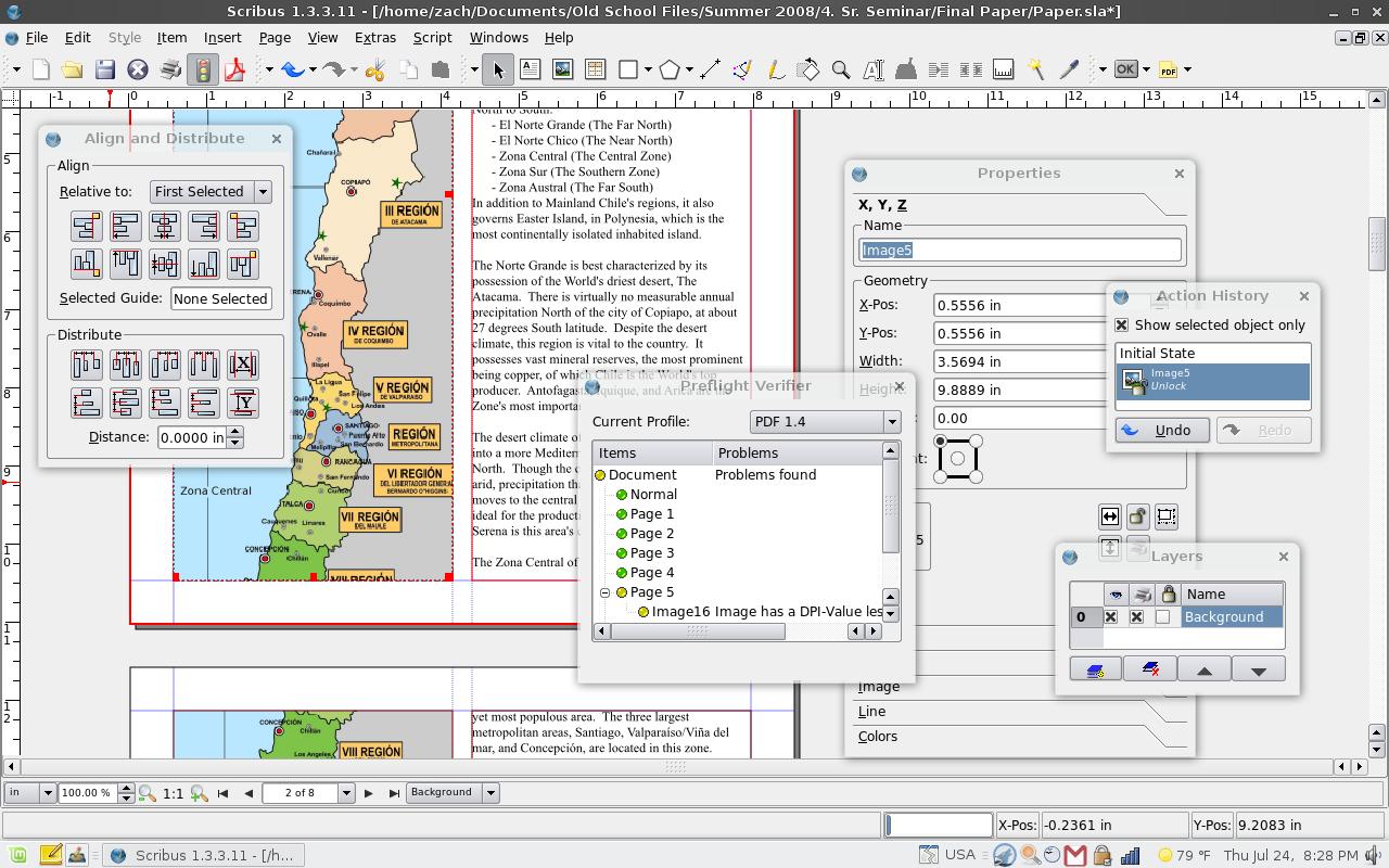 Formation sur le logiciel Scribus sur PC et Mac