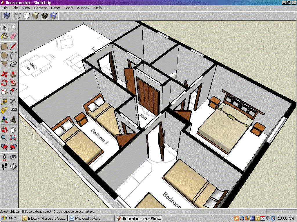 Form 39 it formations sketchup pro sur mesure for Outil miroir sketchup