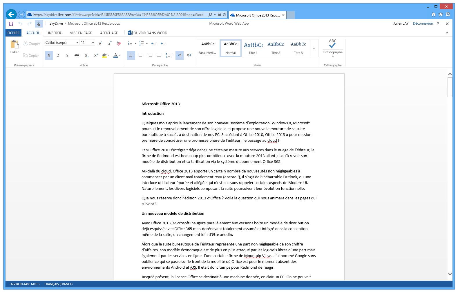 Formation débutants logiciel Word sur PC et Mac